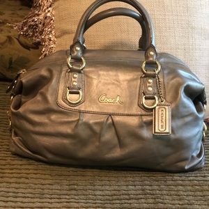 Coach Ashley Bronze Satchel